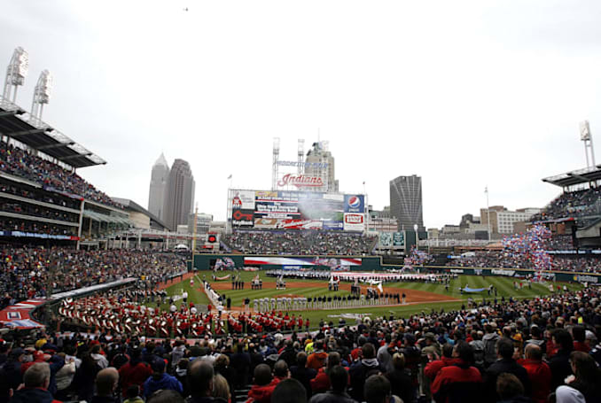 Cleveland Indians want to put ads where fans can see them