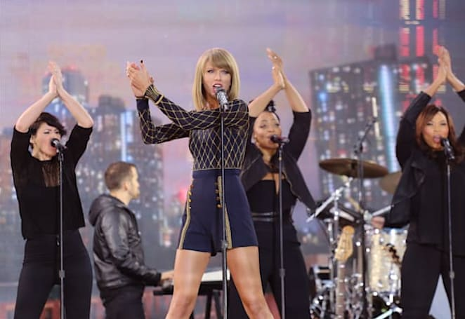 Taylor Swift wants no part of the music streaming 'experiment'
