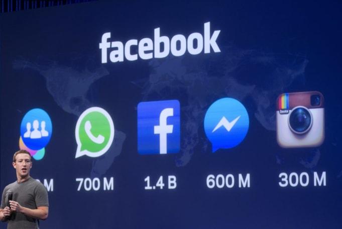 1 billion people used Facebook on Monday
