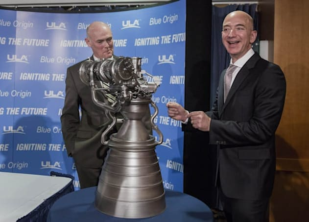 Jeff Bezos' spaceship is set to lift off later this year