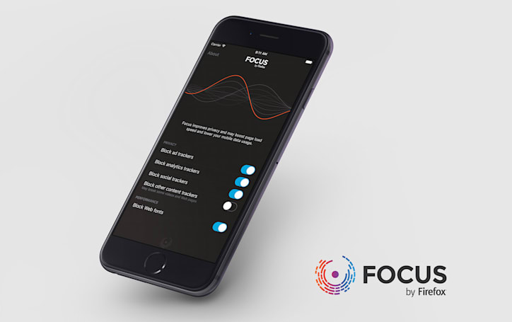 Mozilla launches an iOS 9 content blocker, Focus by Firefox