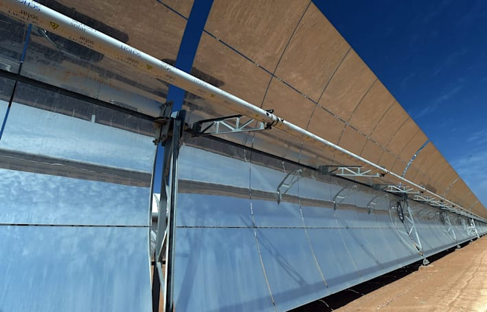 Morocco is building the biggest solar farm in all of Africa
