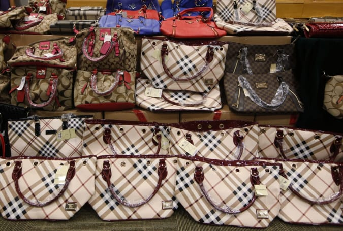 Department of Justice plans to crack down on counterfeits sold online