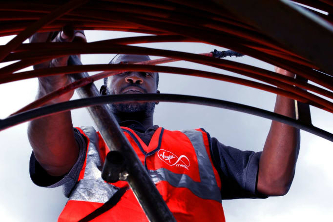 Virgin Media now offers up to 100 Mbps broadband as standard
