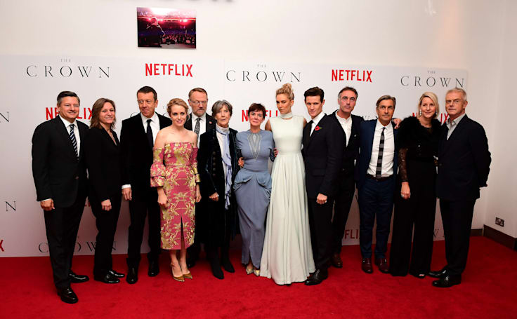 'The Crown' gives Netflix its best shot yet at a TV BAFTA