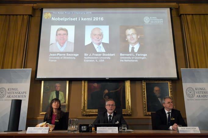 Nanomachines just won the Nobel Prize in Chemistry