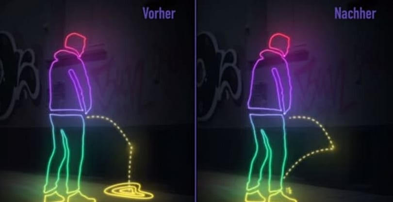 Hamburg is pee-proofing its public places