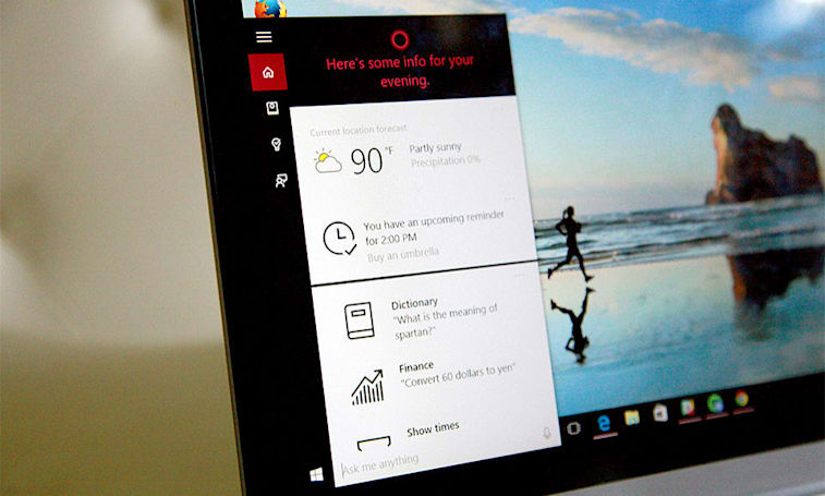 Living with Cortana, Windows 10's thoughtful, flaky assistant