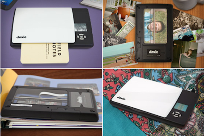 You'll Flip over Doxie's newest scanner