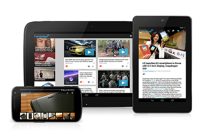 Engadget 2.0 for Android is here!