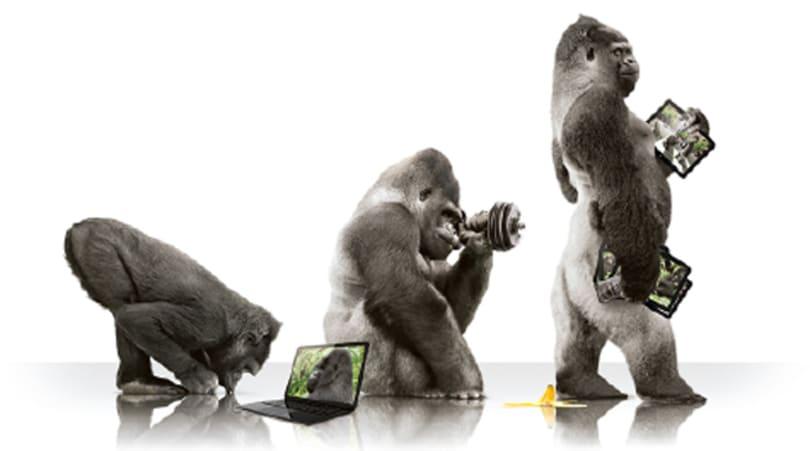 康寧的新 Gorilla Glass 內建殺菌的能力