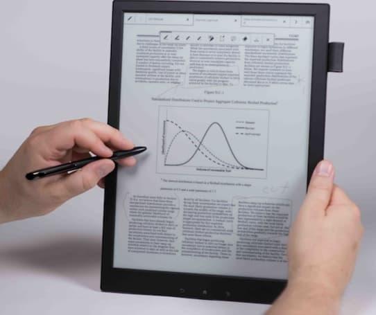 索尼的 13.3 吋 Digital Paper 阅读器将于 5 月开卖,售价 1,100 美元(视频)