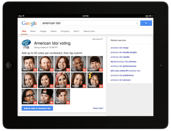 'American Idol' betting on Google and Facebook to increase fan interaction