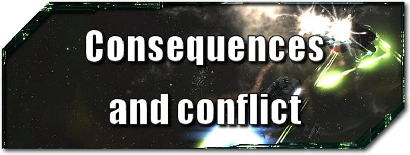 EVE Evolved: Consequences and conflict