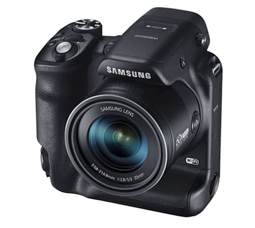 Samsung announces a batch of sharing-focused SMART cameras, including a dual-grip beast with 60x zoom