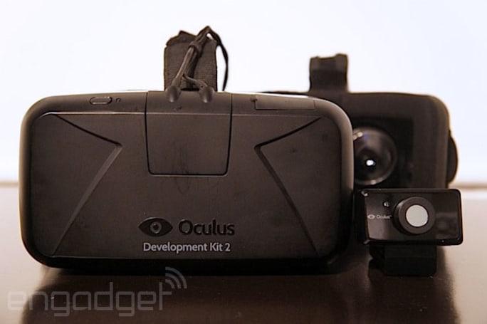 Watch as an Oculus Rift takes itself apart