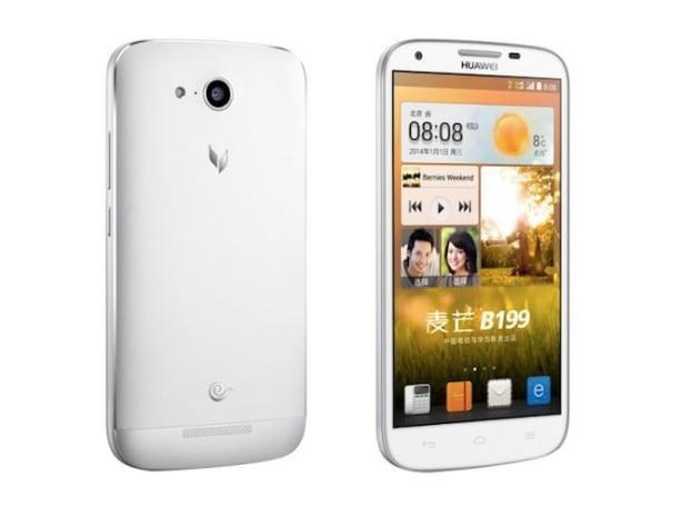 华为发表麦芒 B199:5.5 吋 HD 屏幕、3,000mAh 电池、售价 1,999 元