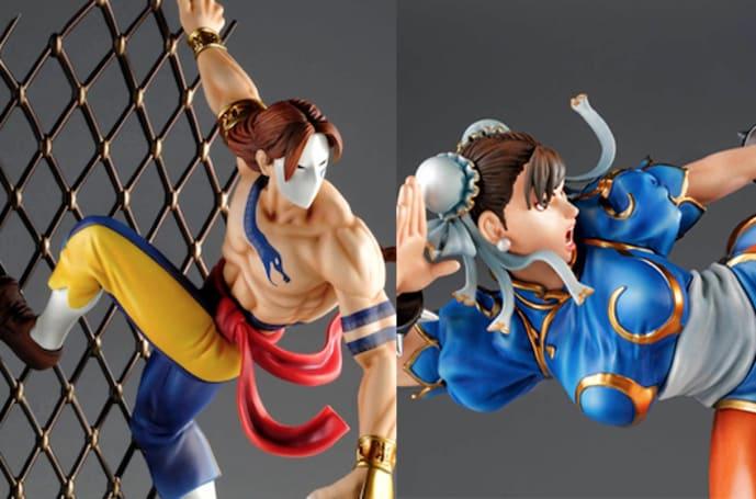 Vega, Chun Li figurines ready for pre-order from Tsume-Art