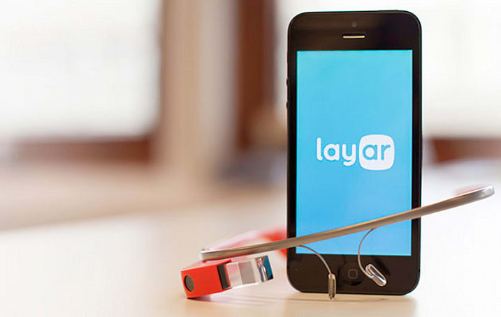 Layar brings its augmented reality to Google Glass