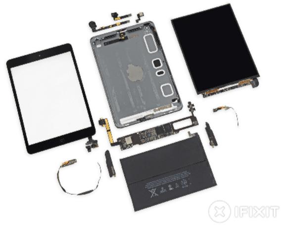 iFixit opens up iPad mini with Retina display