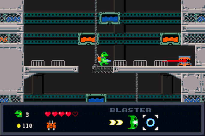 Studio Pixel's Kero Blaster finally hops to it in May