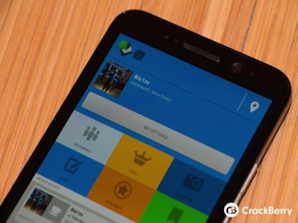 最新版 BlackBerry 10 版 Foursquare 換上新設計以及帶來多項改善