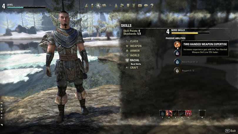 What do The Elder Scrolls Online's racial abilities mean for endgame?