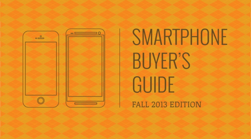Engadget's smartphone buyer's guide: fall 2013