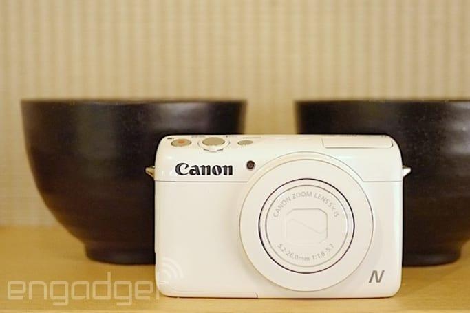 两颗镜头的 Canon PowerShot N100 香港动手玩(视频)