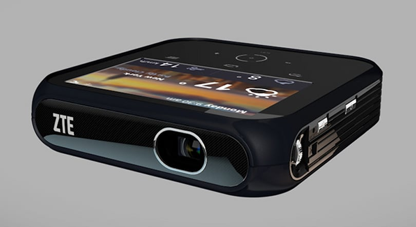 ZTE's Android-powered Projector Hotspot dishes out 1080p video and US-native LTE