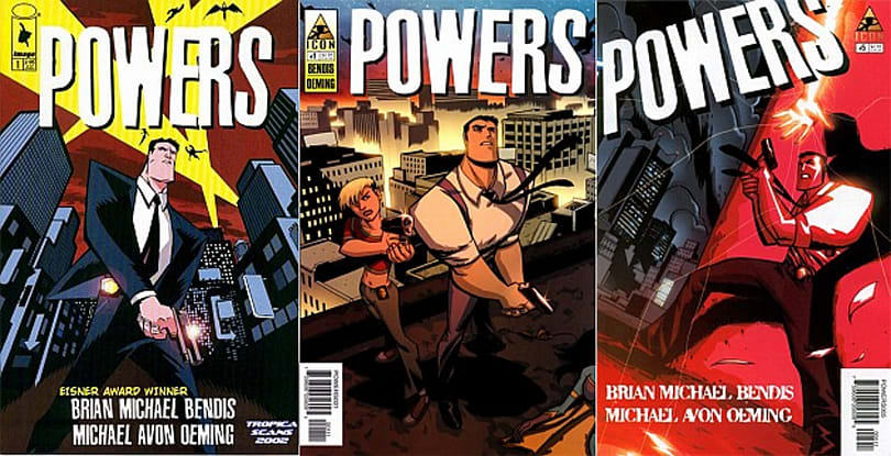 PlayStation Network's first original TV show is an adaptation of the 'Powers' comics