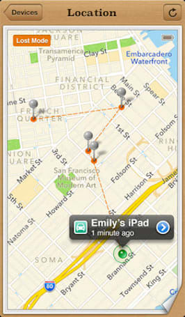 Stolen car with child inside tracked and found by Find My iPhone