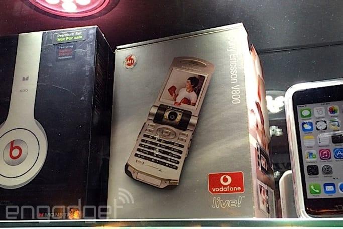 路人记事:来香港看全新的 Sony Ericsson V800i