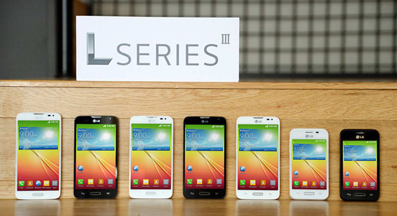 LG's L Series III budget smartphones tout KitKat and smart covers