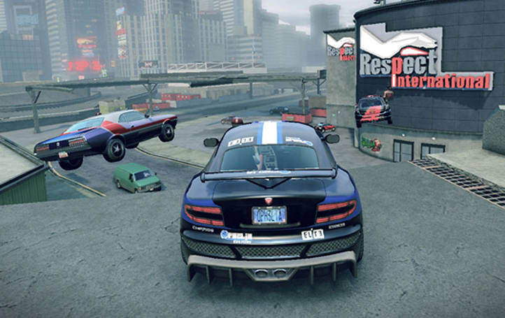 Use your car as a bomb in APB: Reloaded
