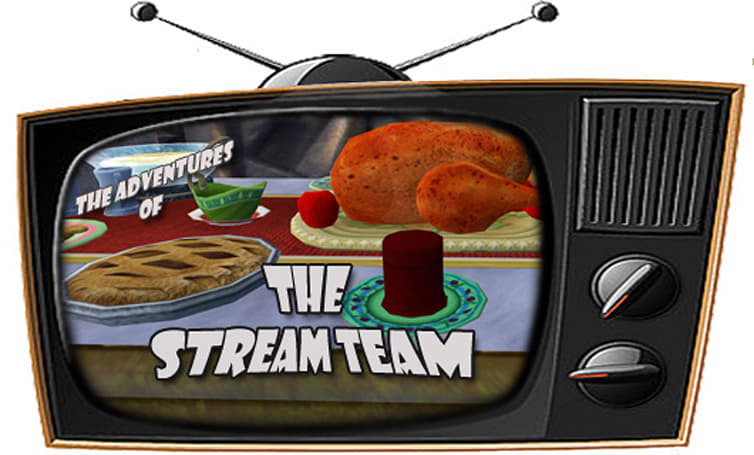 The Stream Team:  Thanks for the cranberries edition, November 25 - December 1, 2013