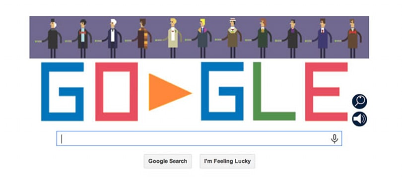 Doctor Who's 50-year anniversary gets a playable Google Doodle