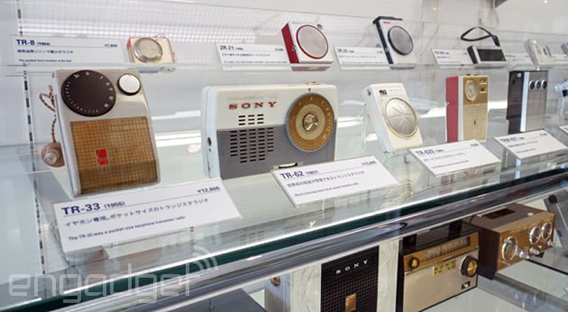 Touring the Sony Archives in Tokyo: Walkmans, robot dogs and a golden guinea pig