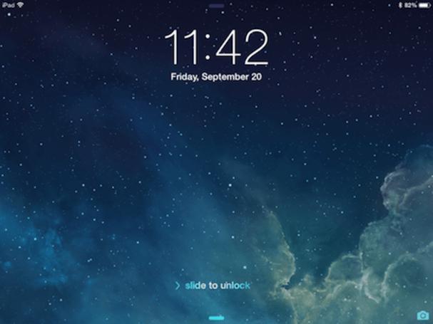 iOS 7 on an iPad mini: First impressions