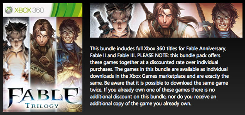 Fable Trilogy coming to Xbox 360