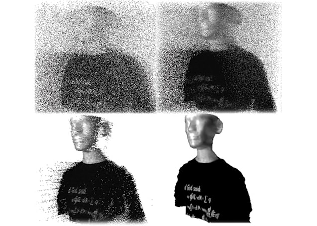 Experimental 3D scanner creates clear images with almost no light