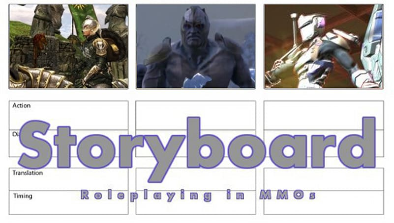 Storyboard: Being who you aren't