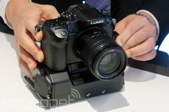 Panasonic's 4K-ready Lumix GH4 priced at $1,700, ships in late April