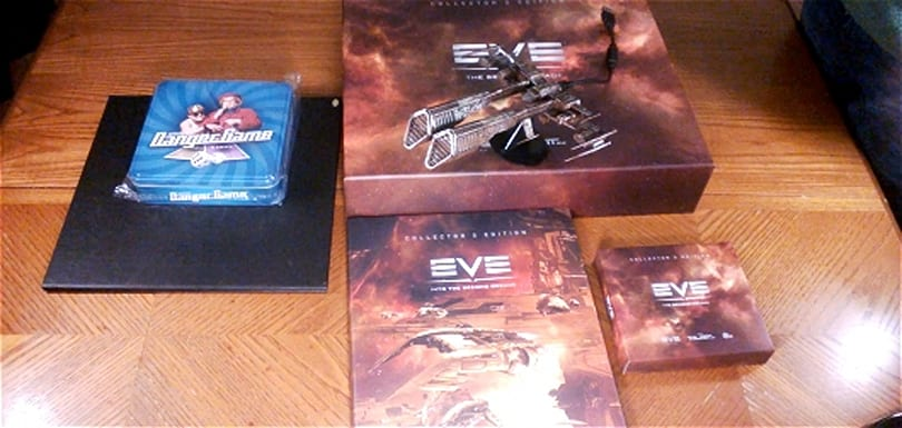 Massively unboxes EVE Online's Collector's Edition