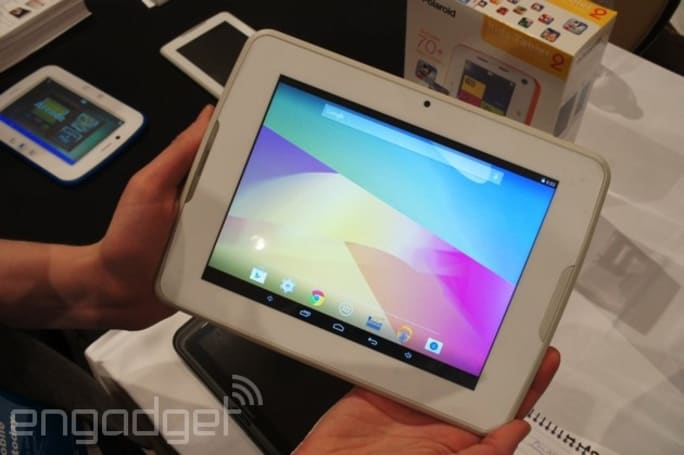 Hands-on with Polaroid's budget Q8 tablet