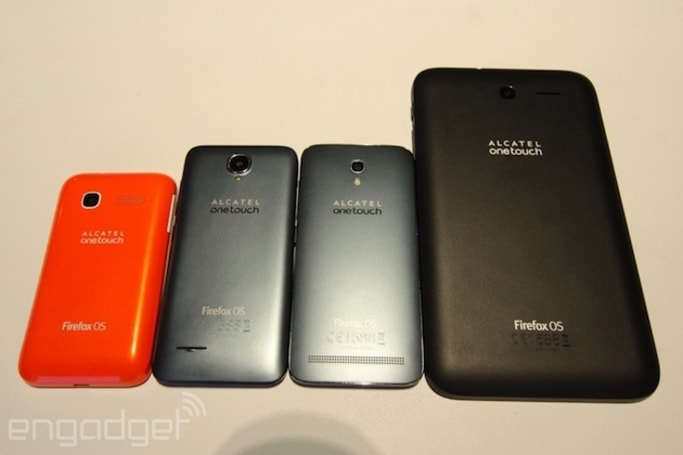 Alcatel shows off new Firefox OS devices, including its first with LTE