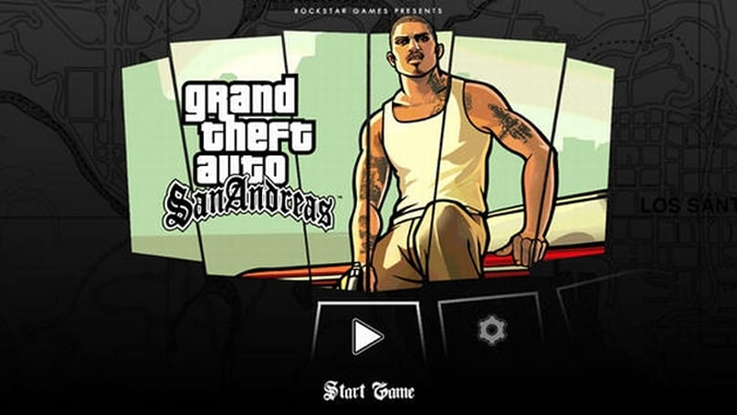 'GTA: San Andreas' on Xbox 360 looks a lot like the Android version