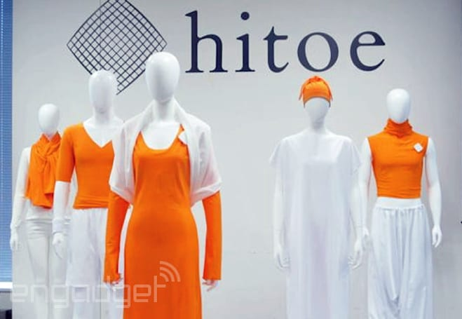 Japanese 'smart clothing' uses nanofibers to monitor your heart-rate (video)