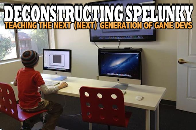 Deconstructing Spelunky: Teaching the next (next) generation of game devs
