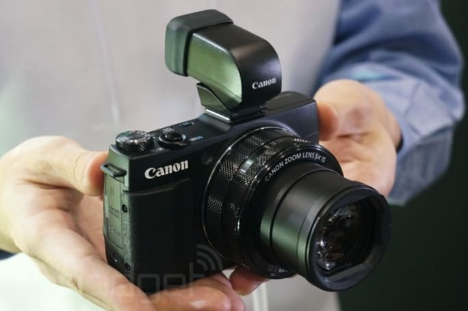 Canon's burly PowerShot G1 X Mark II is a pleasure to use